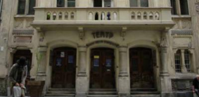 British Council Ukraine - Theatre steps an dportico